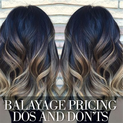 The Dos And Donts Of Balayage Pricing Typical Balayage