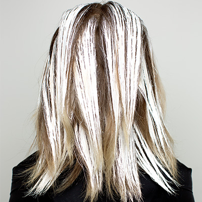allow balayage to process before rinsing out