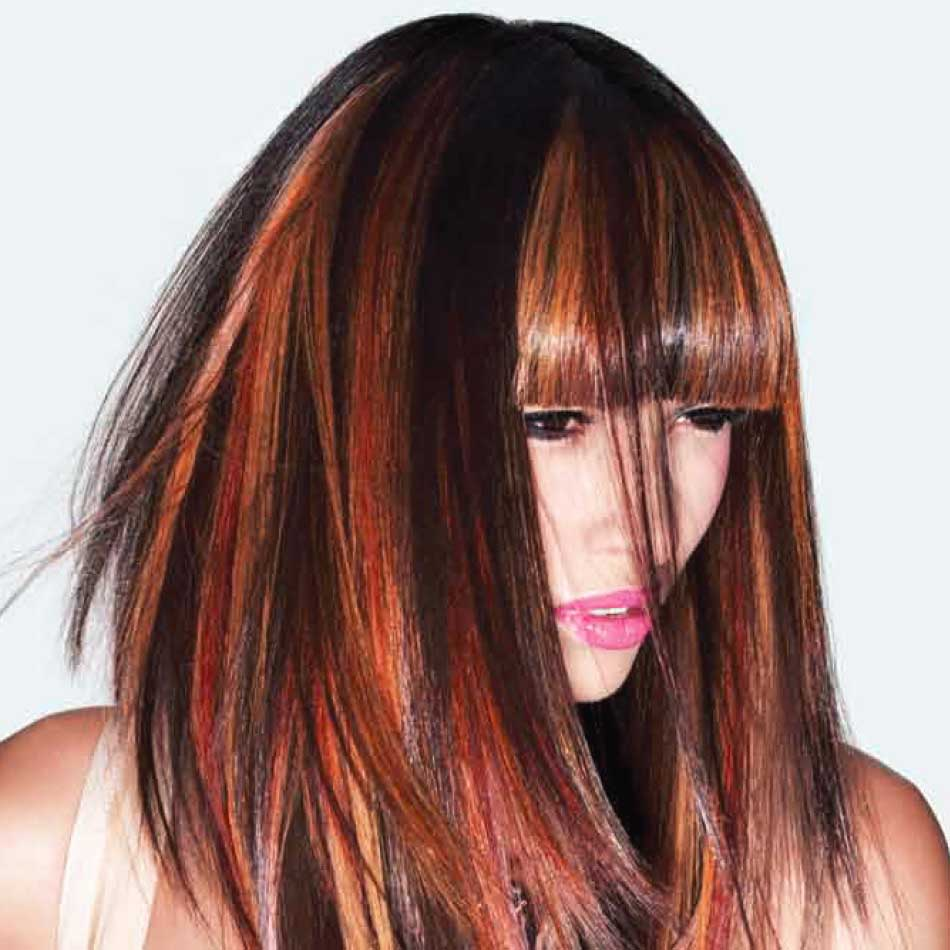 Copper And Gold Highlight How To From Joico Behindthechair