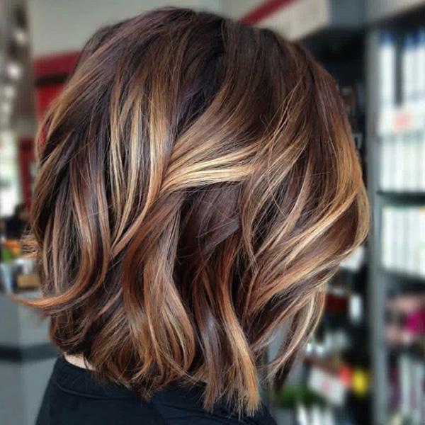 Bright Balayage On A Brunette Base Haircolor Formula