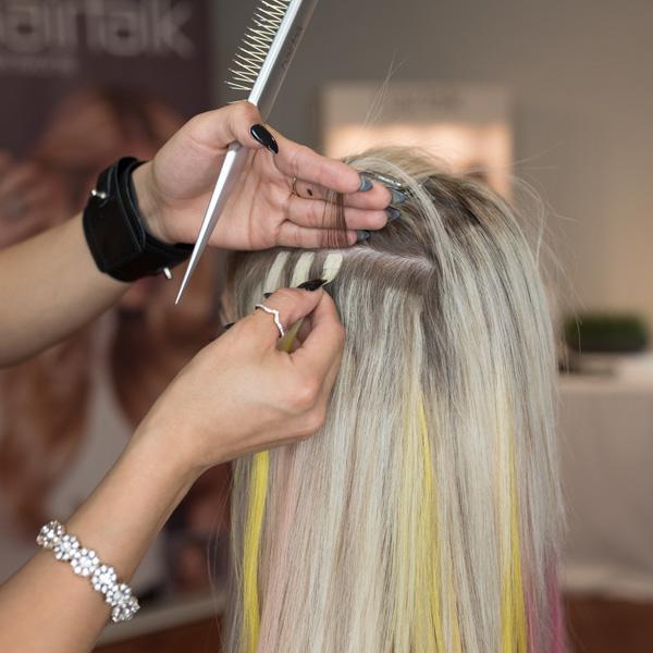 Hair talk extensions mini