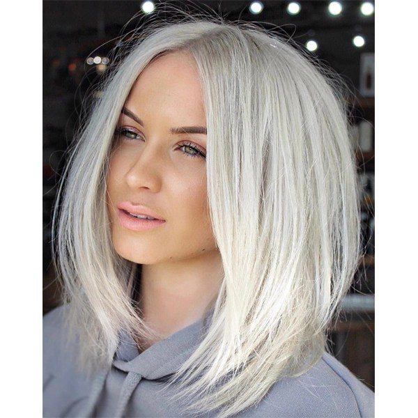 platinum blonde haircolor