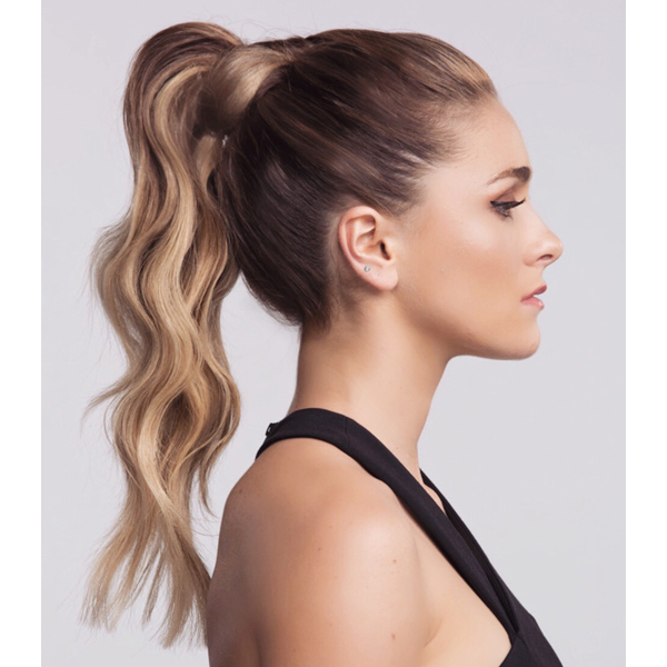 cassie siskovic kenra professional hydro gel 13 styling how to textured waves high ponytail