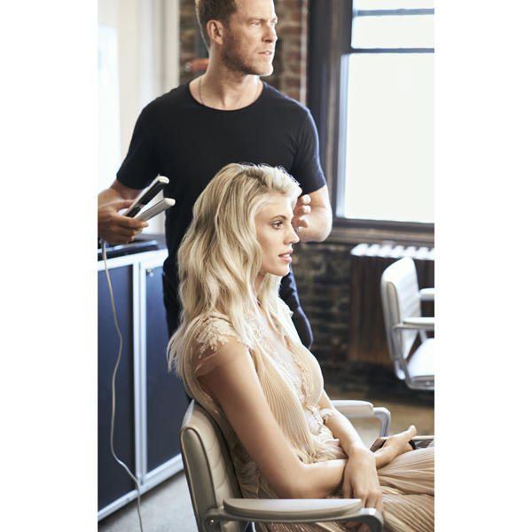 Devon Windsor model Moroccanoil Color Care Collection blonde haircolor treatment Kevin Hughes