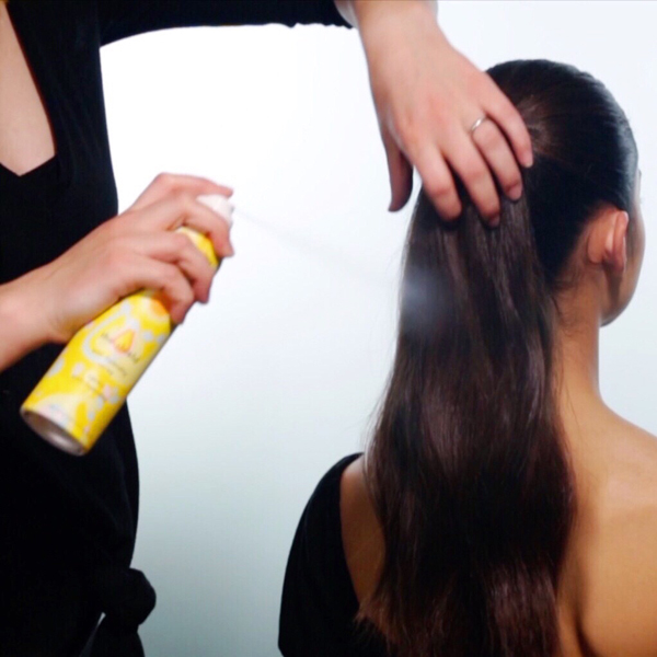Sleek + Glam Ponytail How-To Step 3
