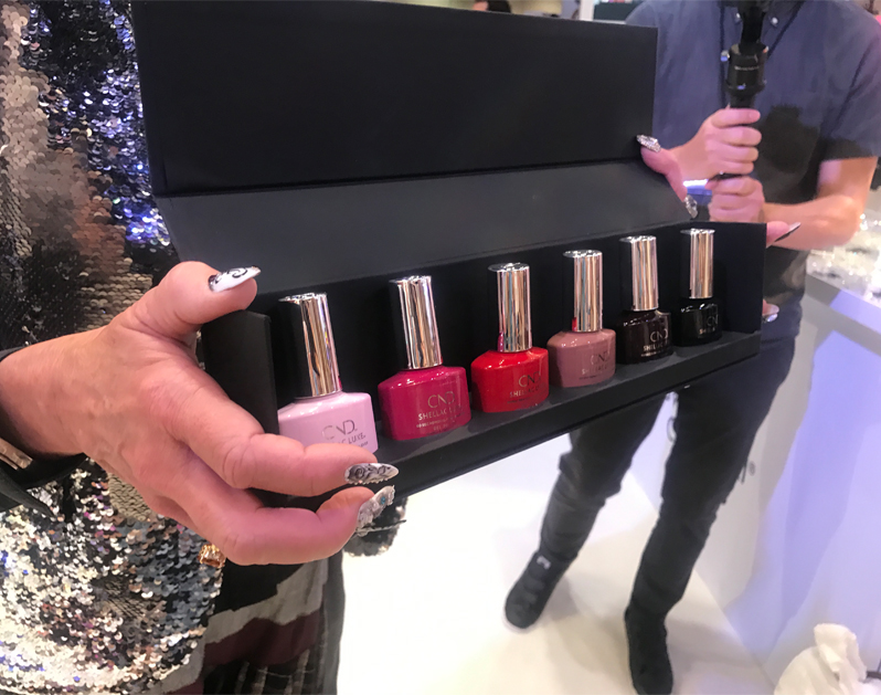 Cnd Launches All New Shellac Luxe At Premiere Beauty Show 2018 Behindthechair Com