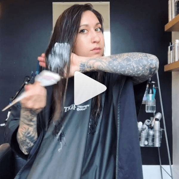 Complete In-Salon Color Haircare Treatment TIGI Custom Care @aaashleee Video How-To