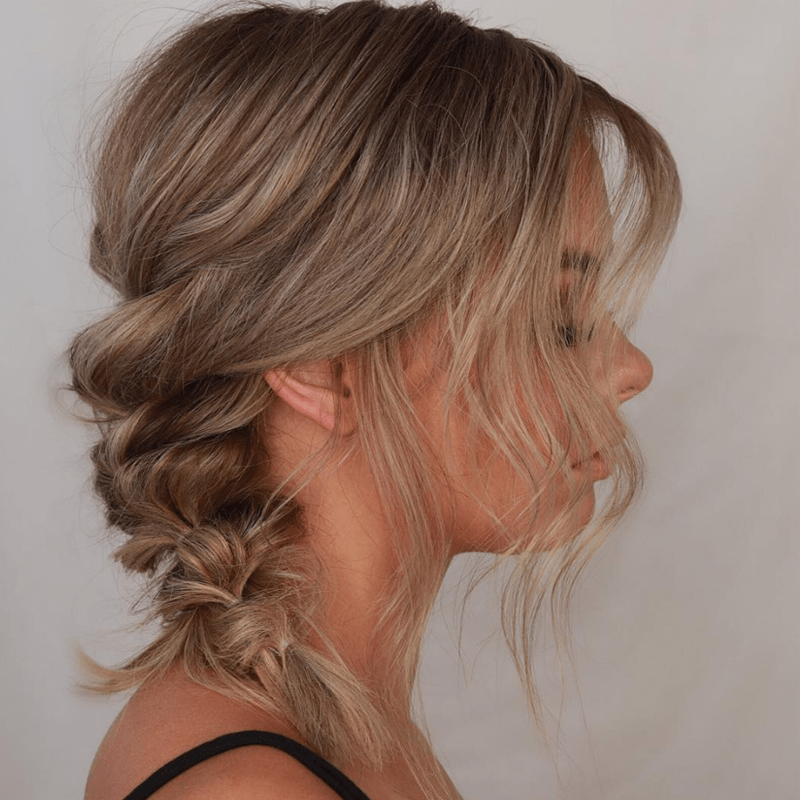 full braid alisha jared @alishajaredhairartistry quickie how-to fine hair