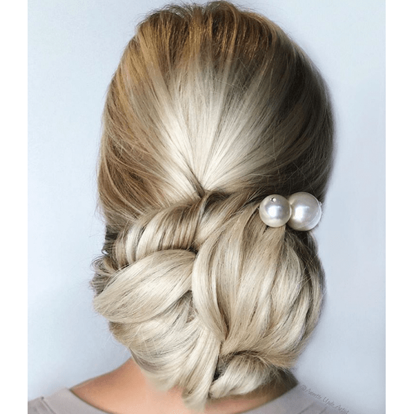 alterna haircare annette waligora @annette_updo_artist bridal updo fall hairstyles bun video quickies how-tos