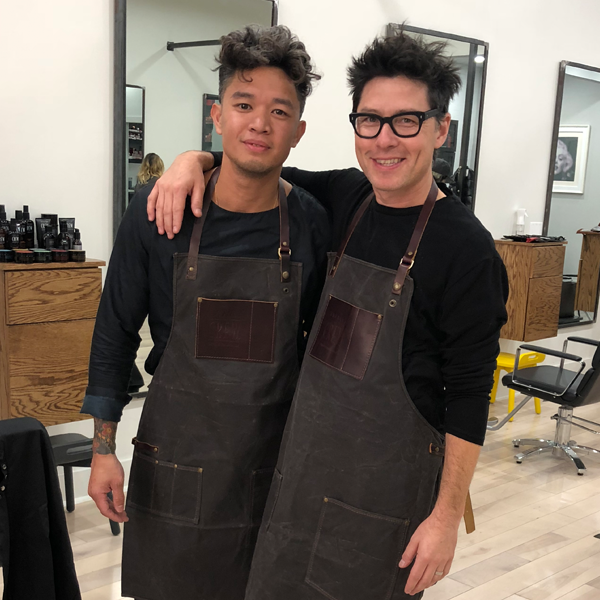 American Crew Mark Bustos Paul Wilson Men Barber Grooming Haircuts Short Hair Razor Cut Clippers Video Facebook Live