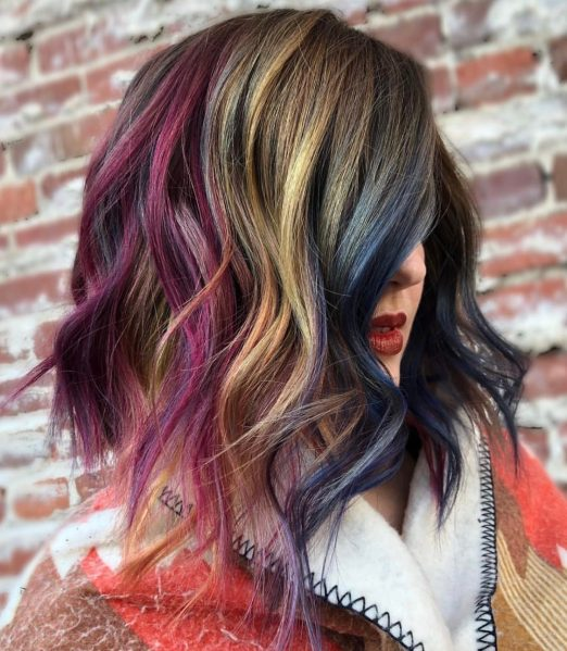 69 Fashion Hair Color Inspiration Photos That Are Perfect
