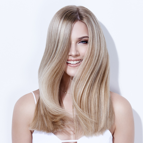 natural blonde with a shadow root low maintenance cream and sugar blonde joico step by step