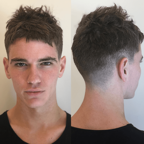 American Crew Paul Wilson Men's Iconic Haircut How To Razor Cut Texture Low Taper Fade