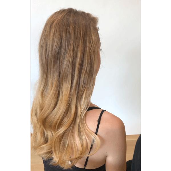 prep, curls, long, blonde