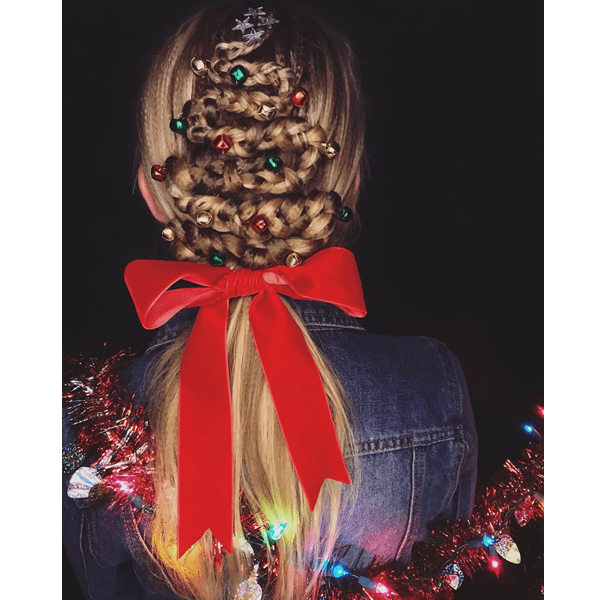 holiday hair inspiration ideas christmas new years party