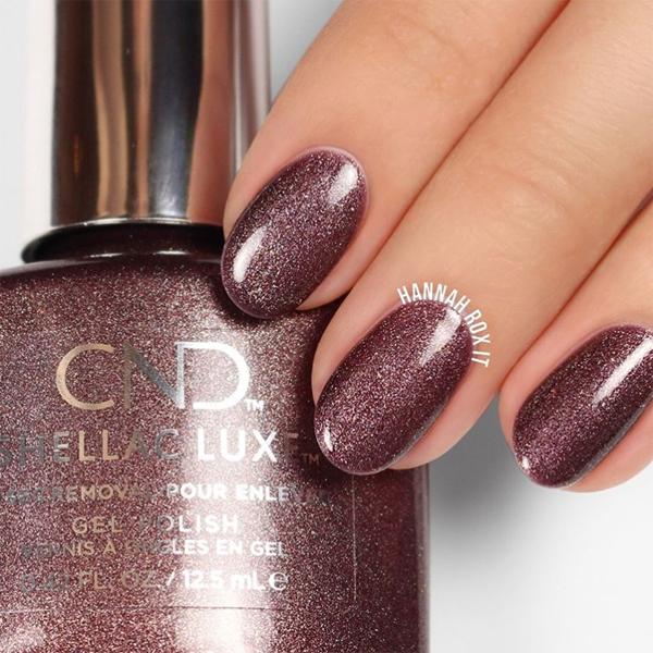 winter nail art cnd shellac luxe grace