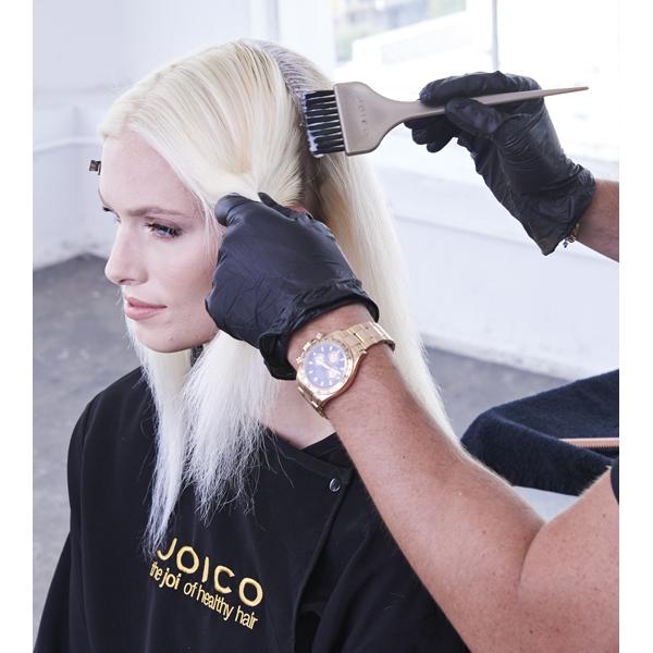 Joico Denis de Souza @denisdesouza Platinum Pearl How To Blonde Blonding Icy White Color Formula