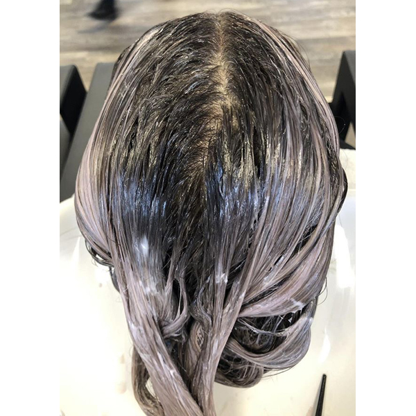 Revlon Professional Giancarlo @gianhair Cool Toned Ashy Brunette Haircolor Formula How To In Process