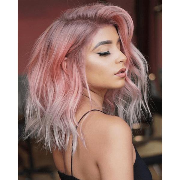 bescene linh phan pink hair color melt formulas schwarzkopf professional