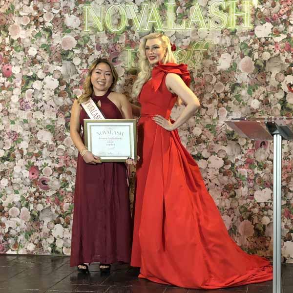 NovaLash LAShoff 2019 Awards Eyelash Extensions