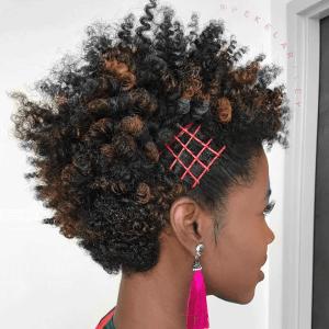 natural hair, hairstyle, natural curls