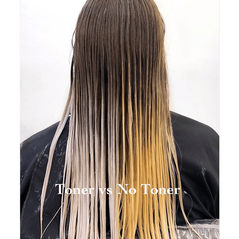 Toner versus No Toner Toning Myths Debunked @lisalovesbalayage Lisa Walker Balayage Education