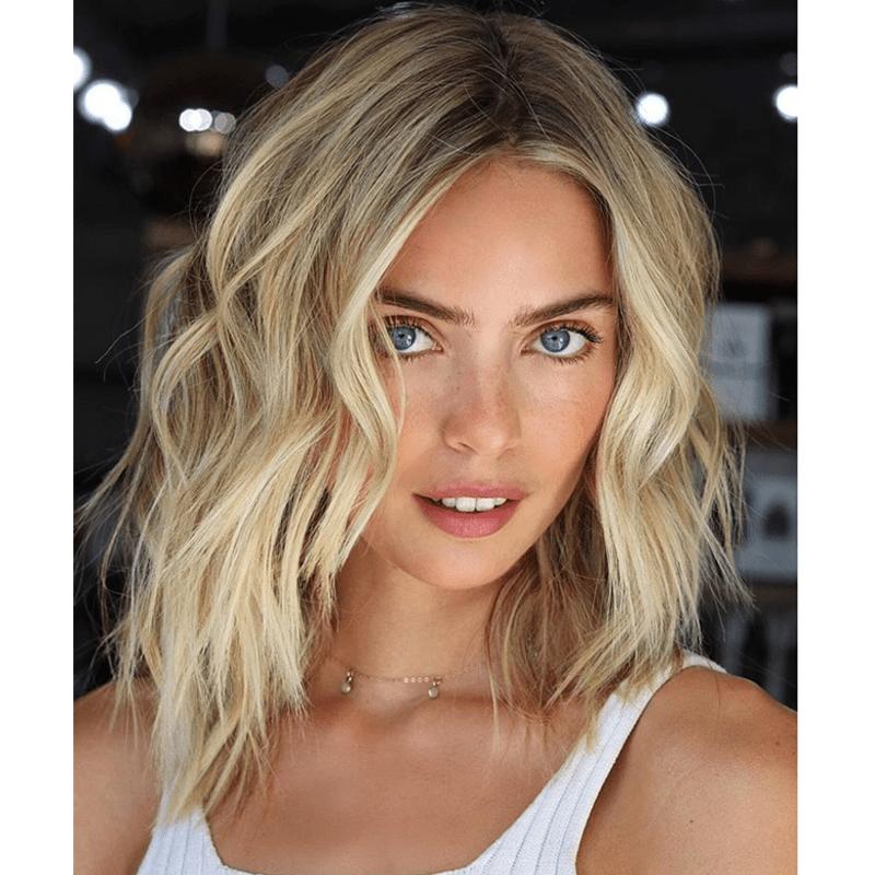 Lo Wheeler Davis IGK Hair Beachy Blonde Balayage Hair Painting Styling Waves Tips
