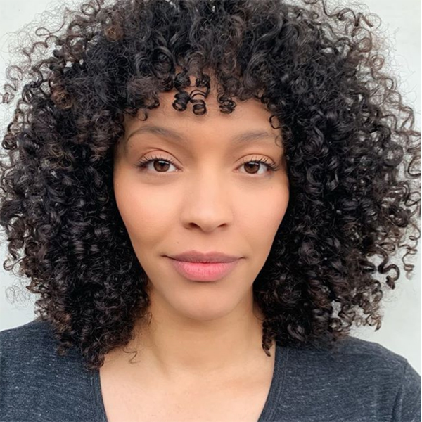 Evan Joseph @evanjosephcurls Tips For Cutting Bangs On Curly Hair Natural Texture Curly Bangs Wavy Hair Curly Hair