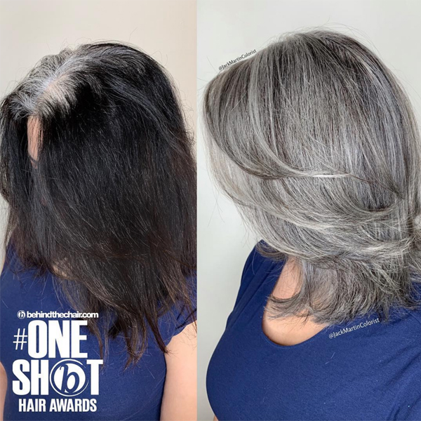 How To Transition Box Dye Color To All Over Gray Or Silver