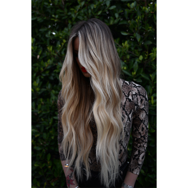hairtalk blonde extensions