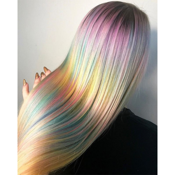Lindsay Wolf @studio_wolf So Your Client Wants Pastel Haircolor Hand Her This BTC Article Pastels Barely There Hair Color