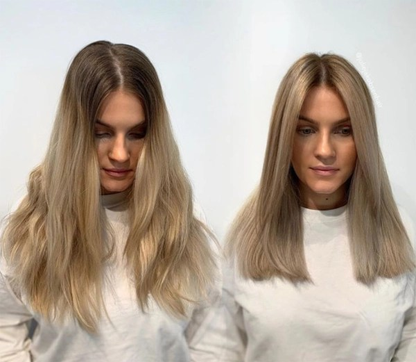 rollayage balayage with a velcro roller julie jakobsen
