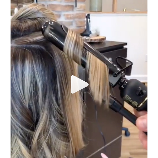 Chris Jones @chrisjones_hair Tips For Longer Lasting Lived In Waves On Bobs Lobs Styling How To Video BTC Quickie Hot Tools Professional Marcel Iron