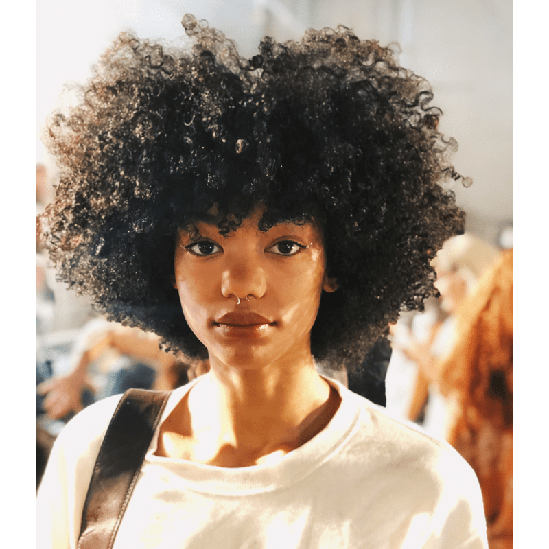 New York Fashion Week Hair Model Trend Curls nyfw