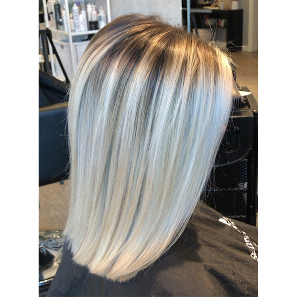 Shawna Russell @hairbyshawna_russell Corrective Balayage How To Correct Bad Balayage Haircolor Blonde Blonding Step By Step