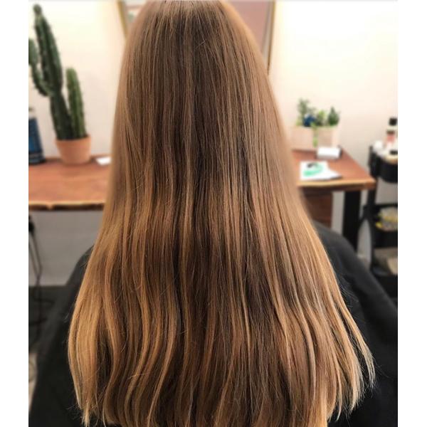 Madison Carbrey @hairbymadisoncarbrey Dimensional Vanilla Blonde Balayage How To Color Formula PRAVANA Redken
