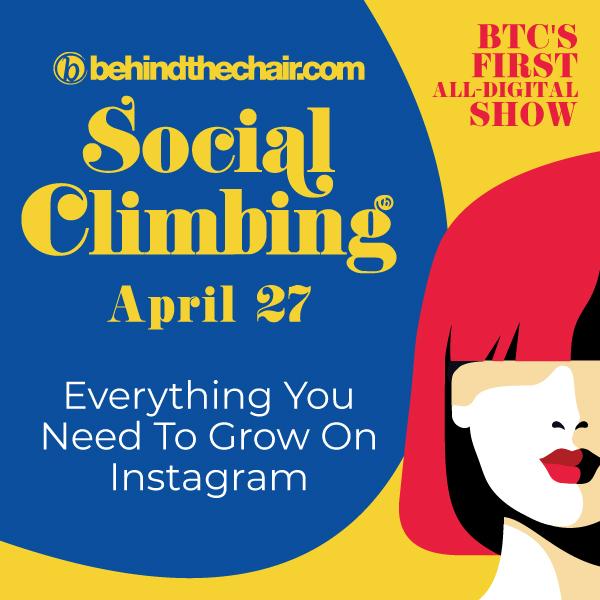 social climbing event banner