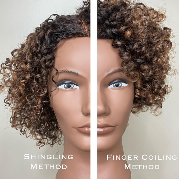 Facebook Live MIZANI Jamal Edmonds @lamajbackwards Watch Finger Coiling Shingling Methods For Wash N Go Techniques Textured Hair Curls Curly