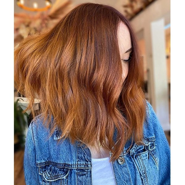 Warm Copper Blend Hair Color Formulas How To Application Steps Schwarzkopf Professional CHROMA ID
