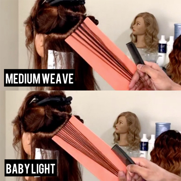 Foiled Teasylights Highlights and Babylights Creative Blonding Placement How To Video @betoloveshair Ulta Beauty Design Team