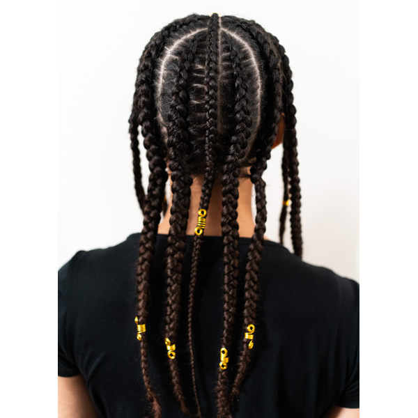 Moroccanoil How To Latavia Alise @ellealiseartistry Pop Smoke Braid Step By Step