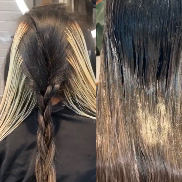how to create bold high contrast blondes with money pieces tips prevent foils from bleeding and more @hairbymickk hairdresser