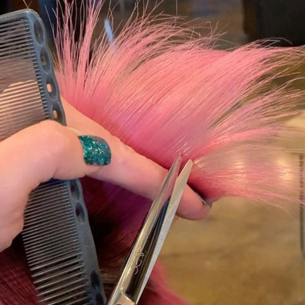 how to cut shags on short hair tips for texturizing face framing layers and fringe carolynn judd arc scissors