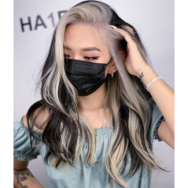 fall 2021 hair color trends money piece