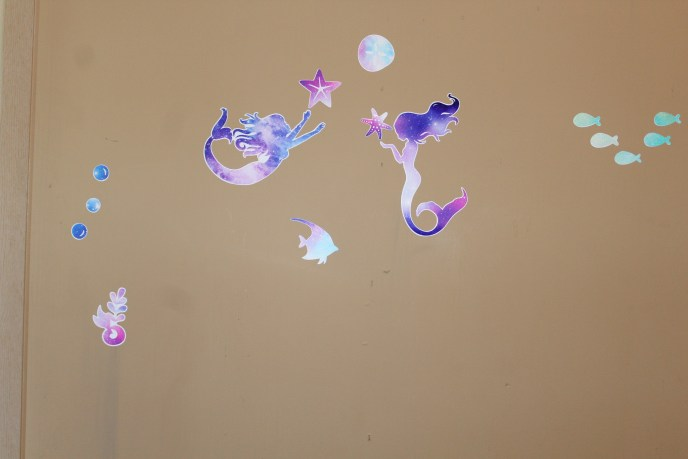 mermaid decals
