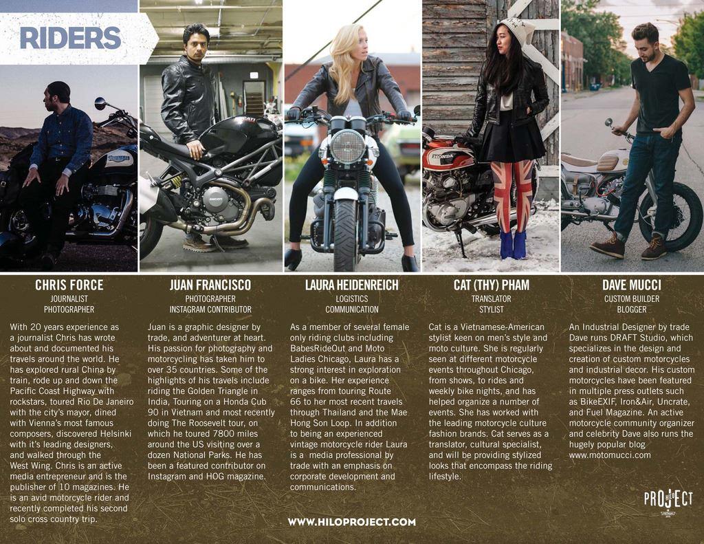 The HILO Project's Vietnamese Ducati Adventure -
