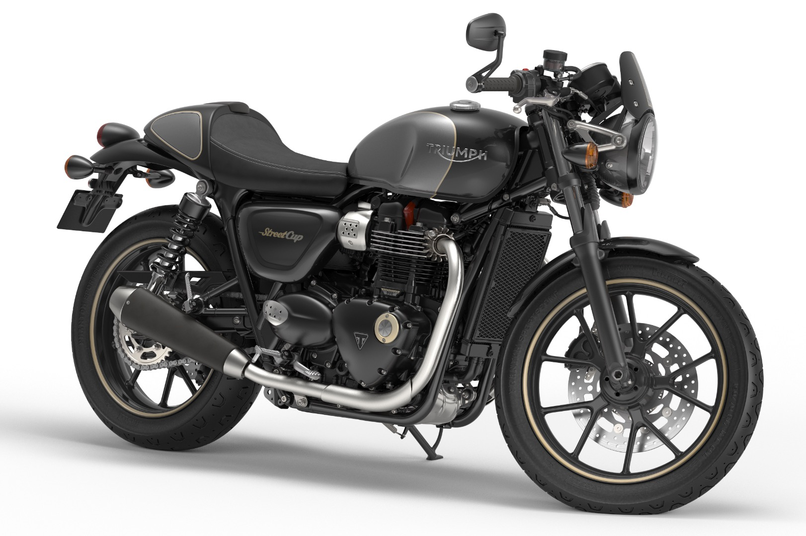 all new triumph bonneville bobber, t100, street cup - behind the moto