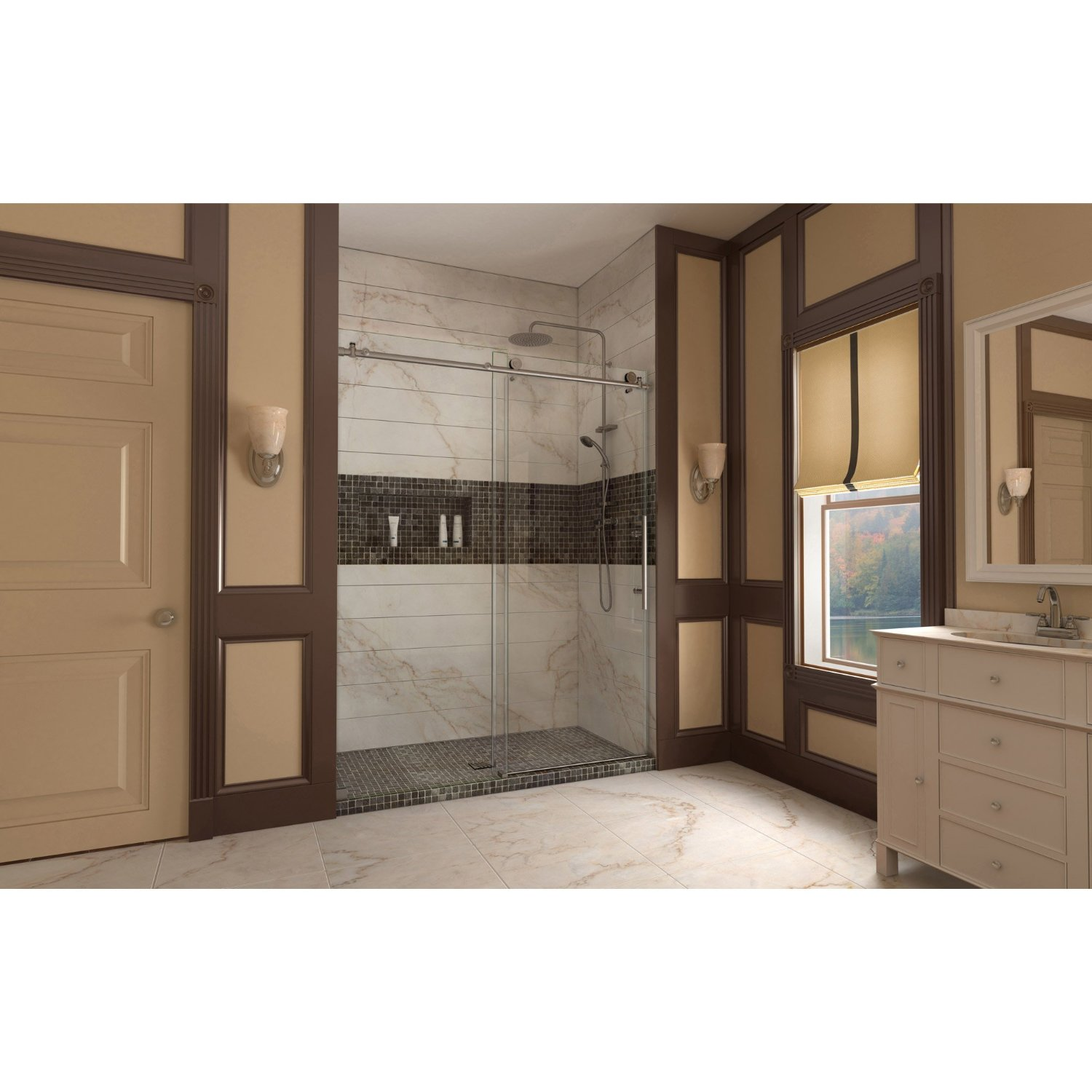 Review Of Enigma X 56 To 60 In Fully Frame Less Shower Door
