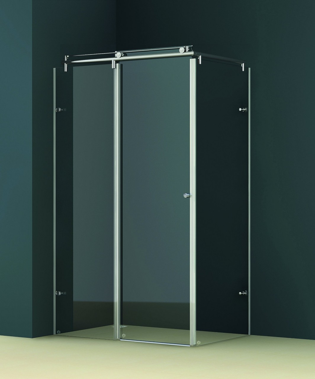 All About Vigo Frameless Shower Enclosures Behind The Shower