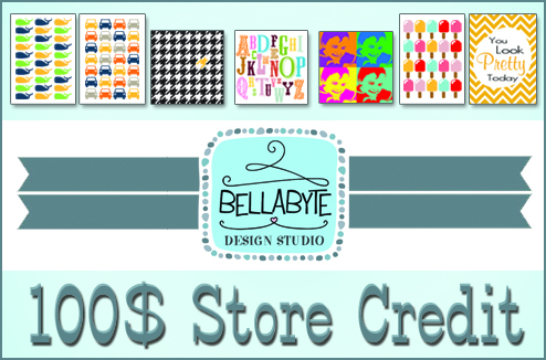 Bellabyte Design Studio Giveaway
